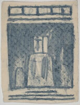 Untitled (Figure) [verso]