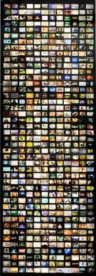 Televisions, Ponte City, Johannesburg