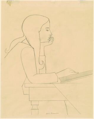 Study for Ona Willa Barnet