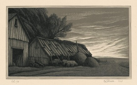 Farmyard, Evening