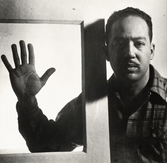 Gordon Parks, Langston Hughes, Chicago, December 1941