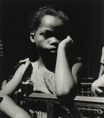 Portrait of a Young Girl, Harlem