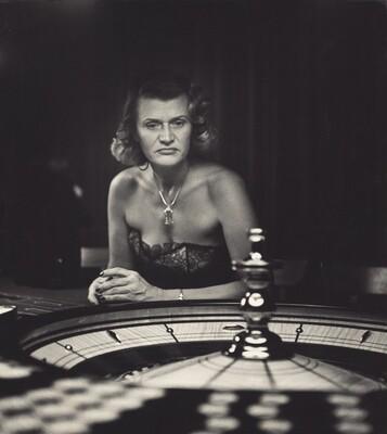 Gambling Woman, Caribe Hilton Hotel, San Juan, Puerto Rico