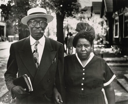Pauline Terry and Her Husband, Detroit