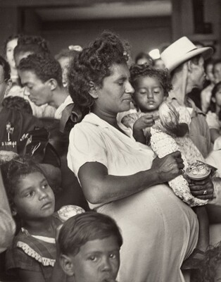 Mother and Children, San Juan, Puerto Rico