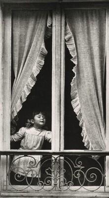 Child in Window, Paris
