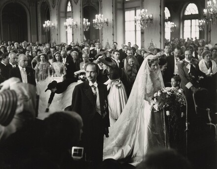 Otto von Habsburg's Wedding, France