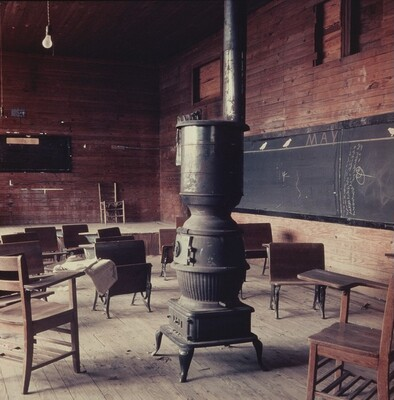 Black Classroom, Shady Grove, Alabama