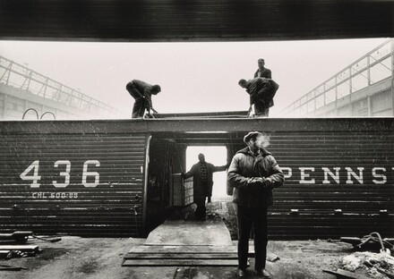New York Stevedores and Boxcar