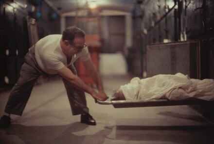 Victim of Shooting in Morgue, Chicago