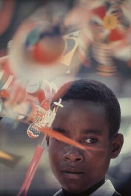 Boy at Carnival, Brazil
