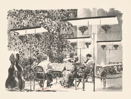 Feldman Quartet Rehearsing—National Gallery