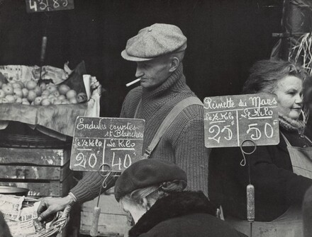 Market Day, Rue Mouffetard, on the Left Bank, Paris
