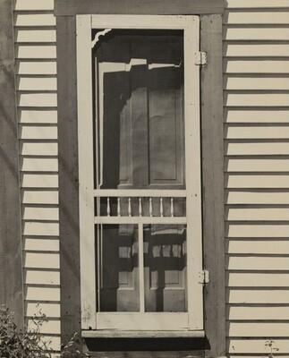 Kitchen Door to the Burt Mosher Home
