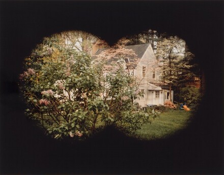 House Through Binoculars