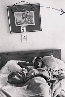 Marcos (in bed)