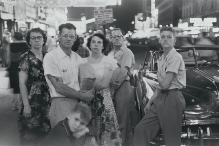 Family, Times Square, New York City
