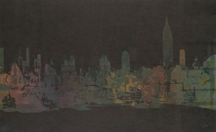 New York, West Side Skyline