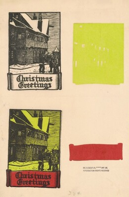 Christmas Greeting, Rothenburg