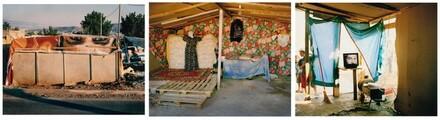 Gypsy Camp, Greece (Triptych)