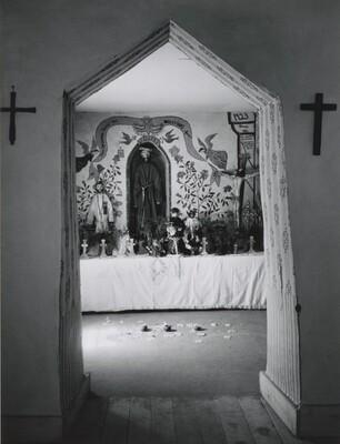 Interior, Penitente Morada, Abiquiu, Northern New Mexico