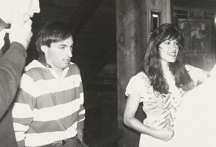 Barbi Benton and Jon Gould
