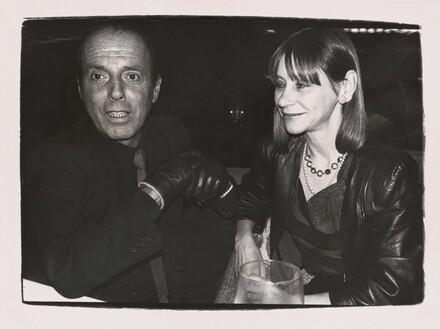 Francesco Scavullo and Unidentified Woman