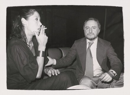 Marina Schiano and Unidentified Man