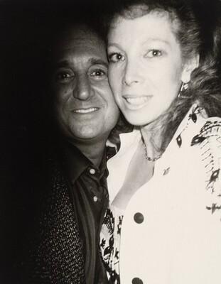 Neil Sedaka and Unidentified Woman