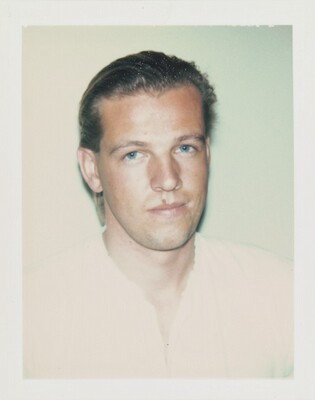 Unidentified Man (Young Blond Mole Over Lip)