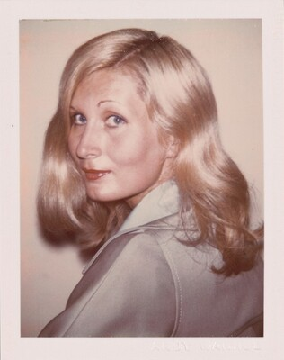 Unidentified Woman (Young Blonde in Blue Polyester Blazer)