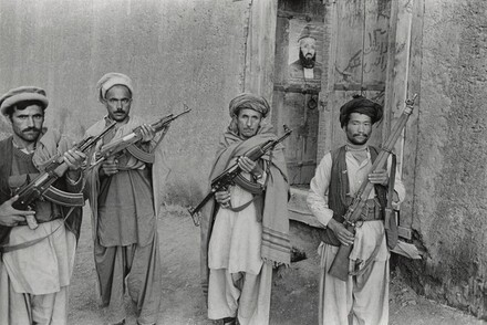 Mujahideen at Wageeza, Afghanistan