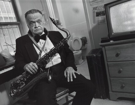 Haskell Rightor III, musician, Times Square residence, New York City