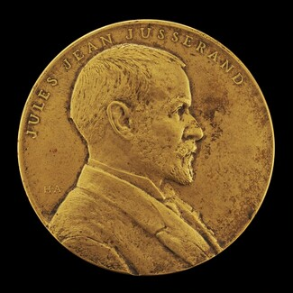 Jules Jean Jusserand Commemorative Medal for the American Historical Association [obverse]