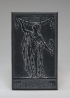 John Jacob Abel Plaque for the Research Corporation