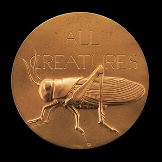 All Creatures Great and Small: Grasshopper [obverse]