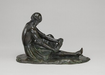 Girl Seated (from the Wading series)