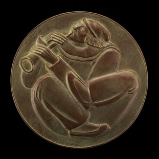 Clown Playing a Horn [obverse]