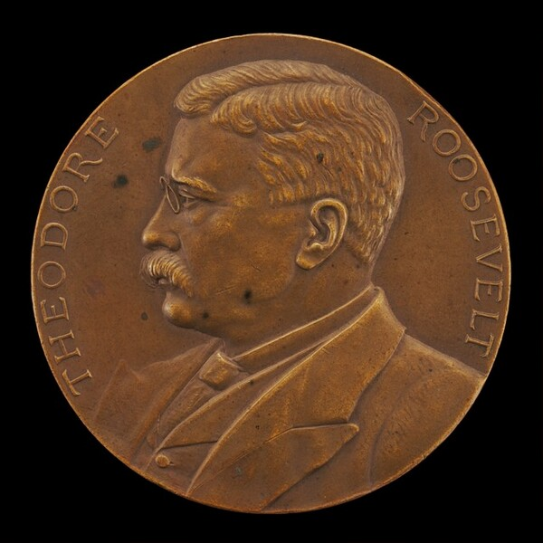 Theodore Roosevelt Inaugural Medal [obverse]