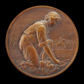 National War Garden Commission Medal [obverse]