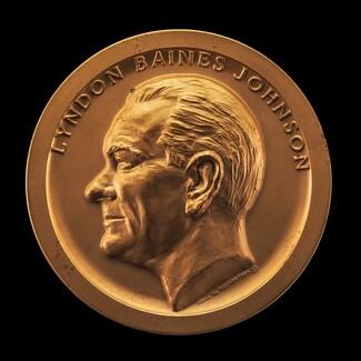 Lyndon Baines Johnson Inaugural Medal [obverse]