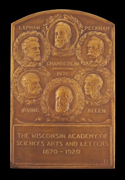 Semi-Centennial Medallion of the Wisconsin Academy of Sciences, Arts, and Letters [obverse]