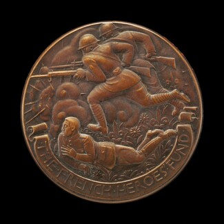 French Heroes Fund Medal [obverse]