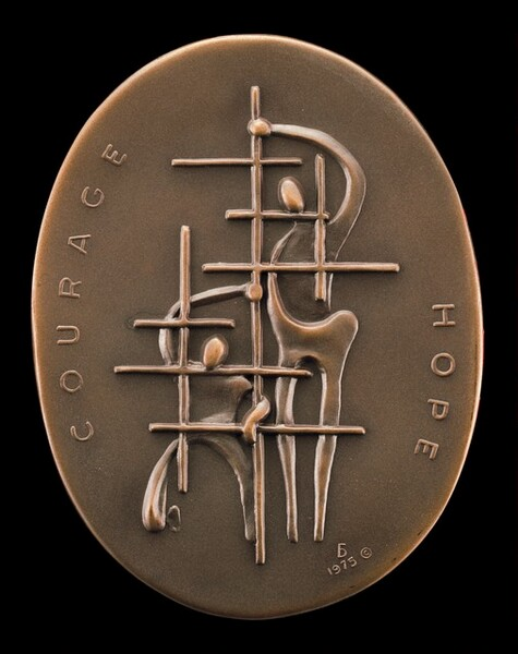 Oppression: Life without Courage and Hope [obverse]