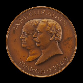 William Howard Taft Inaugural Medal [obverse]