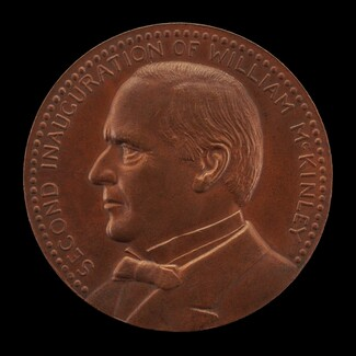 William McKinley Second Inaugural Medal [obverse]