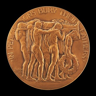 In Peace Sons Bury Their Fathers [obverse]