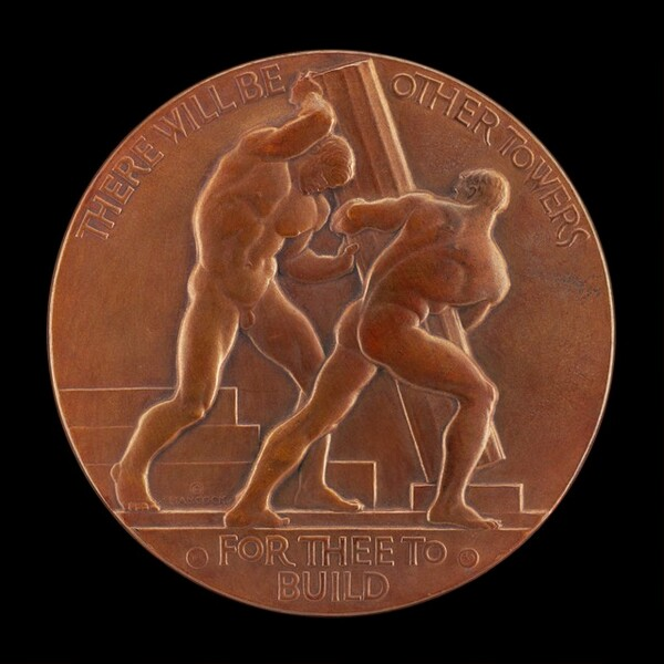 Victory of Man and Nature over the Powers of Destruction [obverse]