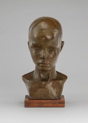 Richmond Barthé, Head of a Boy, c. 1930