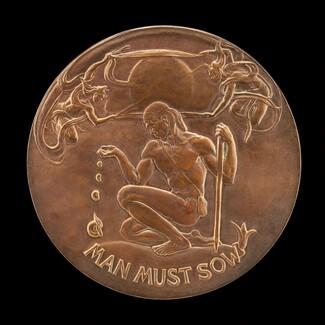 Man Must Sow [obverse]